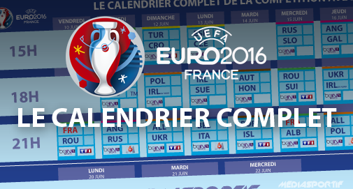 Rencontres euro 2018