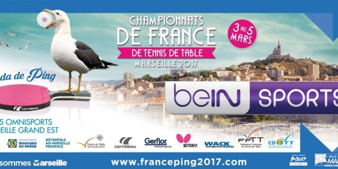 Bein sports se met au tennis de table mediasportif - Federation francaise de tennis de table ...