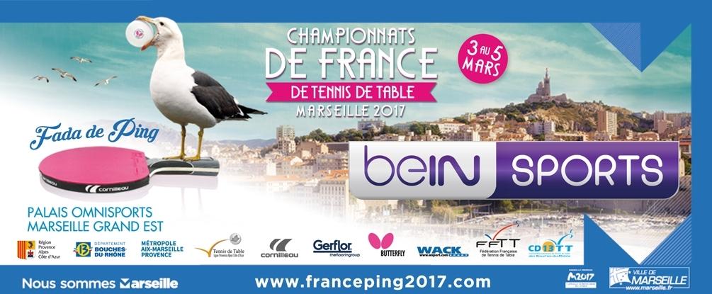 Bein sports se met au tennis de table mediasportif - Championnat departemental tennis de table ...