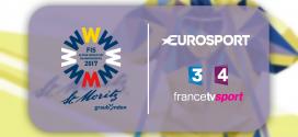 Les Championnats du monde de ski alpin 2017 sur Eurosport et France Télévisions