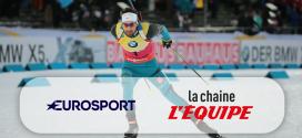 Droits TV : Eurosport et la chaine L'Équipe sécurisent le biathlon jusqu'en 2022