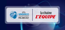 L'Euro Espoirs 2017 commence aujourd'hui sur la chaîne l'Equipe