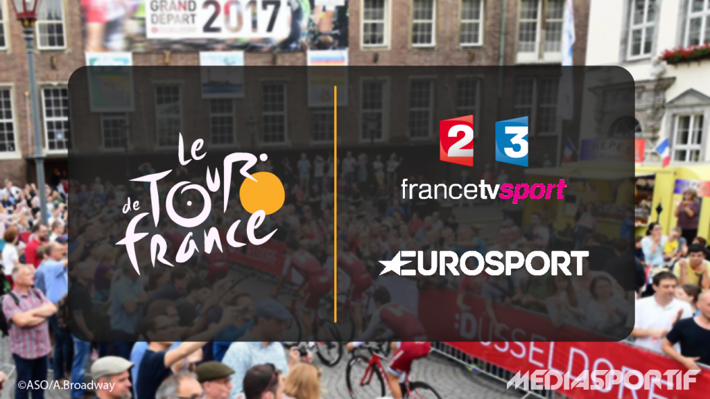 tour de france 2017 le programme tv sur france t l visions et eurosport mediasportif. Black Bedroom Furniture Sets. Home Design Ideas