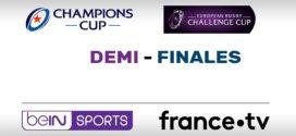 Coupes d'Europe de Rugby : Le programme TV et le dispositif complet des demi-finales sur beIN SPORTS et France Télévisions